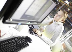 mujer en el trabajo