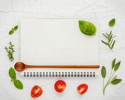 Cookbook concept mock-up