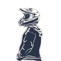 riders inking illustration artwork vector