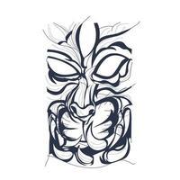satan cat inking illustration artwork vector