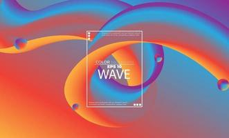 Abstract fluid color pattern of colorful liquid gradient background with modern geometric dynamic motion style Suitable For Wallpaper, Banner, Background, Card, Book Illustration, landing page, vector