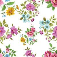 Seamless Floral Pattern cute vintage vector