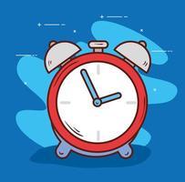 despertador, hora de despertarse vector