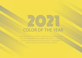 Abstract background image color of the year vector