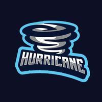 Wind Hurricane mascot design