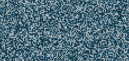 Abstract pattern blue shimmer background with shiny light and dark circles. vector