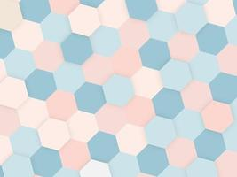 Abstract colorful background with copyspace with shapes vector
