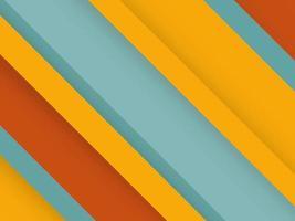 Fondo colorido abstracto con copyspace con formas vector