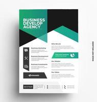 Print Flyer Template vector
