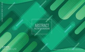 Abstract Green Data Futuristic Background