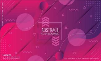 Abstract Modern Futuristic Background vector