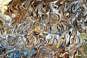Marbled background with metallic colors