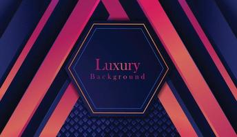 Luxury Background Design With Line Shape vector