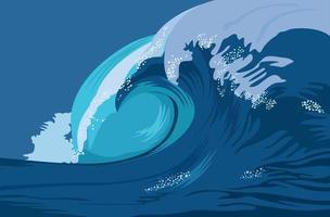 Wave illustration graphic vector