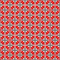 patrón de batik sin fisuras. batik kawung en aspecto moderno. vector