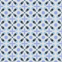 Seamless modern batik with soft color vector