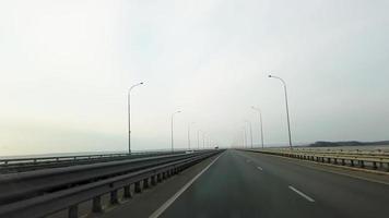 Traffic on The Sedanka-De Vries Highway