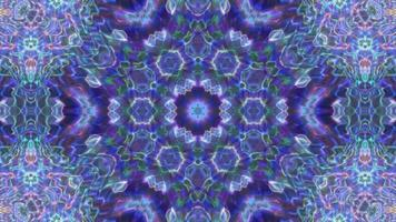 Abstract Purple Kaleidoscope Background