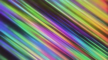 fundo abstrato com linhas coloridas de arco-íris neon video
