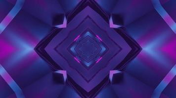 Colorful 3D kaleidoscope design illustration for background or texture