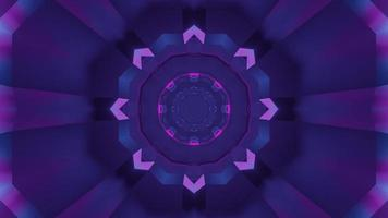 Colorful 3D kaleidoscope design illustration for background or texture photo