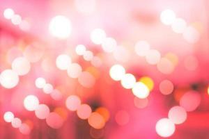 círculos borrosos de iluminación led roja