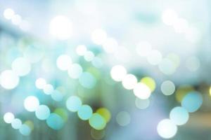círculos borrosos de iluminación led