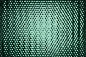 Panel of green LED lighting