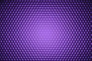 Panel of blurred purple LED lighting