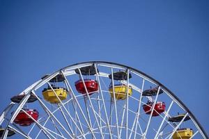 Ferris wheel at the Santa Monica Pier