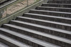 Stone steps in Central Park, NYC