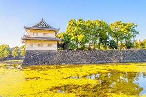 palacio imperial en tokio, japón foto
