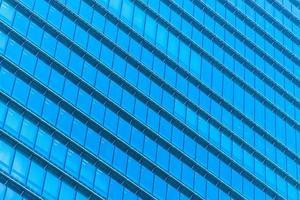 Skyscraper with window glass pattern