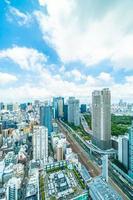 edificios en la ciudad de tokio, japón
