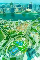 Cityscape of Macau city photo