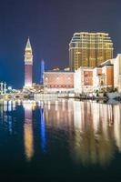 The Venetian and other hotels and casinos in Macau City