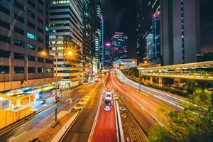 Buildings of Hong Kong city, China