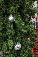 Disco ball Christmas ornaments