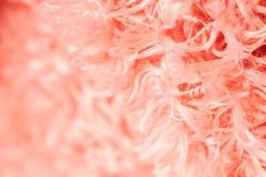 Cerrar alfombra de algodón rosa suave