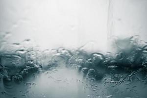 fondo borroso lluvioso