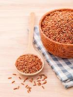 Whole grain in a bowl photo