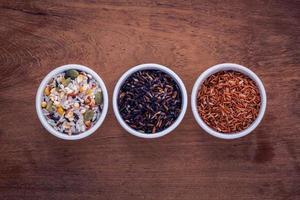 Mixed whole grains