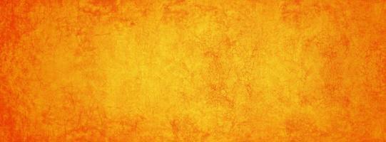 banner amarillo y naranja