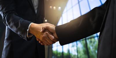 concepto de negociación exitosa