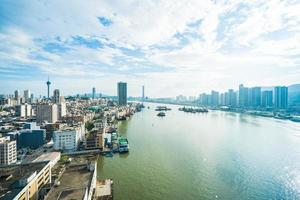 Cityscape of Macau city photo
