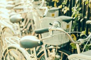 bicicleta vieja vintage foto