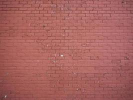 una pared de ladrillo rojo