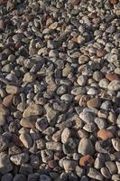 Pebble beach in the sun