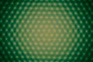 Blurred panel of green LED lighting