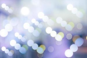 círculos borrosos de iluminación led de colores